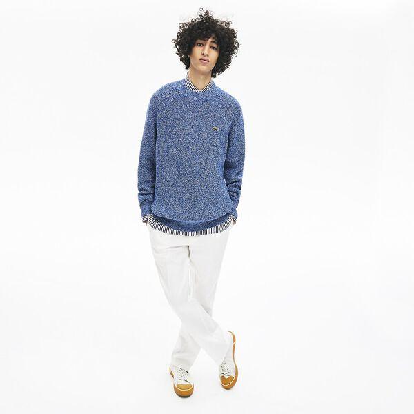 Men's L!ve Classic Rib Knit, METHYLENE/MULTICOLOUR, hi-res