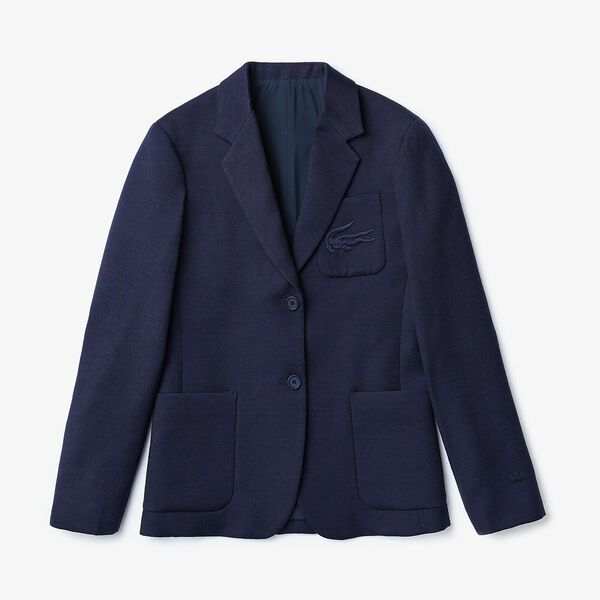 Women's Fashion Show Iconics Blazer, NAVY BLUE, hi-res