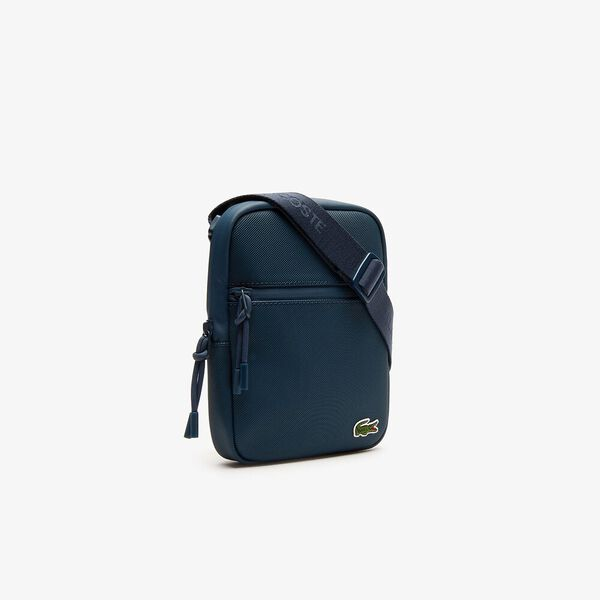 Men's L.12.12 Small Flat Crossover Bag, REFLECTING POND, hi-res