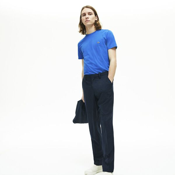 Men's Crew Neck Pima Cotton Jersey T-shirt, NATTIER, hi-res