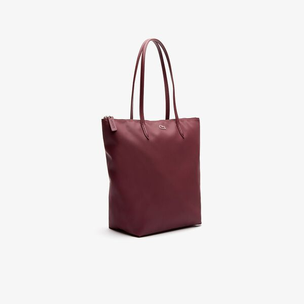 Women's L.12.12 Vertical Shopping Bag, TAWNY PORT, hi-res