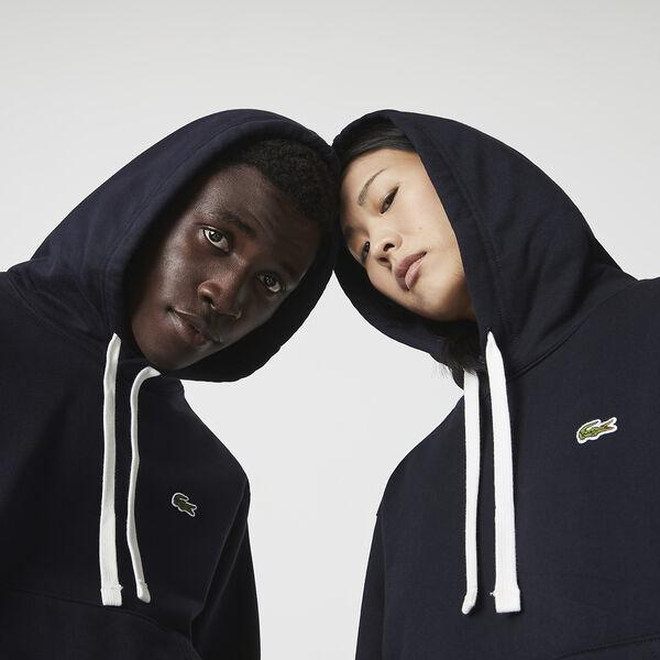 Unisex Hooded Organic Cotton Fleece Sweatshirt, ABYSM, hi-res