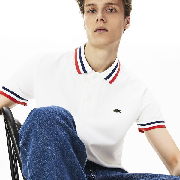 MEN'S MADE IN FRANCE POLO TIPPING