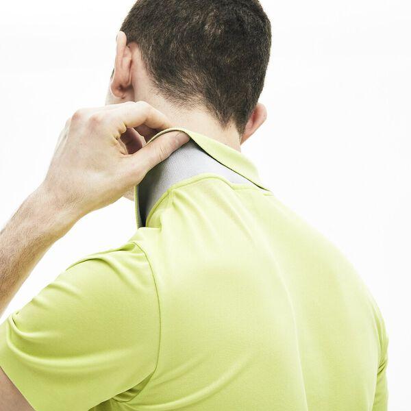 Men's Lacoste Motion Ultra-Light Cotton Polo Shirt, SUBAL/NIMBUS, hi-res
