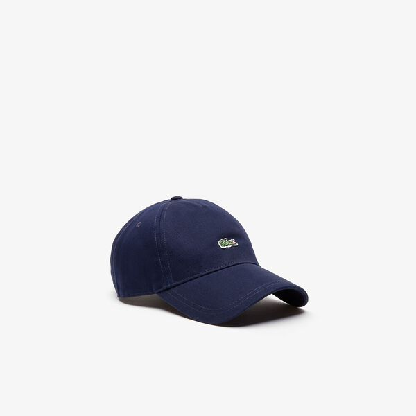 MEN'S CENTRE CROCODILE CAP, NAVY BLUE, hi-res
