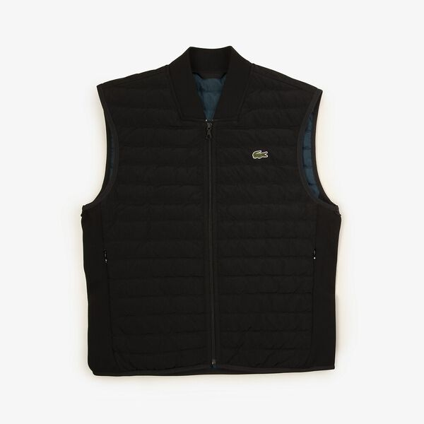 Men's Classic Padded Vest, BLACK/WHEELWRIGHT, hi-res