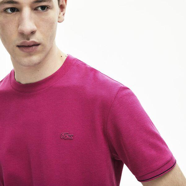 Men's Silk-Cotton Crewneck T-Shirt