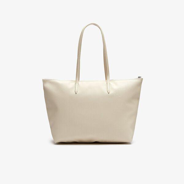 Women's L.12.12 Concept Zip Tote Bag, FOG, hi-res