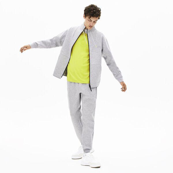 Men's Lacoste Motion Zip Front Sweatshirt