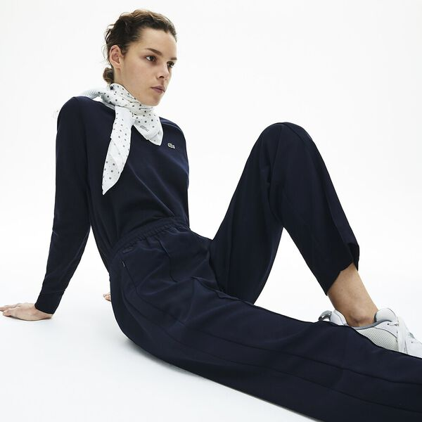 Women's Contrast band Trackpants