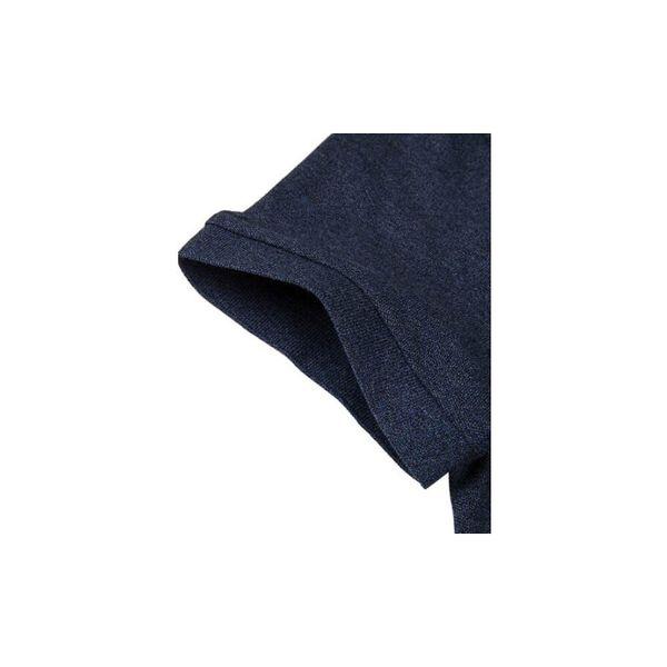 Men's Cotton Piqué Slim Fit Polo, HEATHER NEBULA, hi-res
