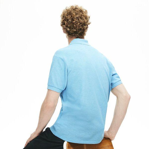 Men's 2 Ply Classic Fit Polo, ANTARCTIC BLUE, hi-res