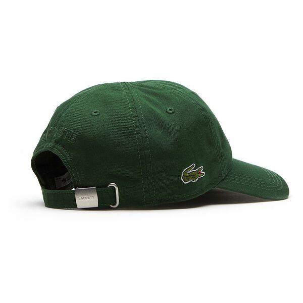 MEN'S BASIC SIDE CROC CAP, GREEN, hi-res