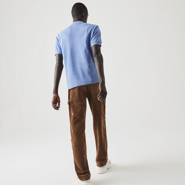 Marl L.12.12 Polo Shirt, IPOMEE CHINE, hi-res