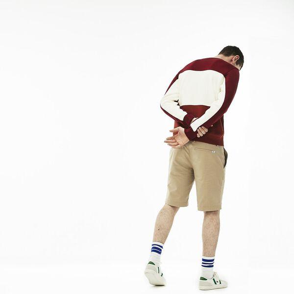Men's Classic Slim Stretch Bermuda Short, VIENNESE, hi-res