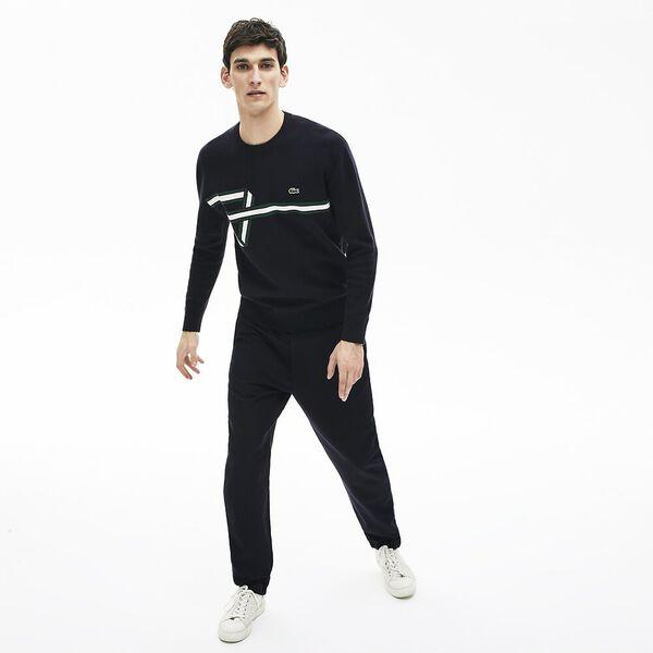 Men's Band Design Heritage Knit Sweater