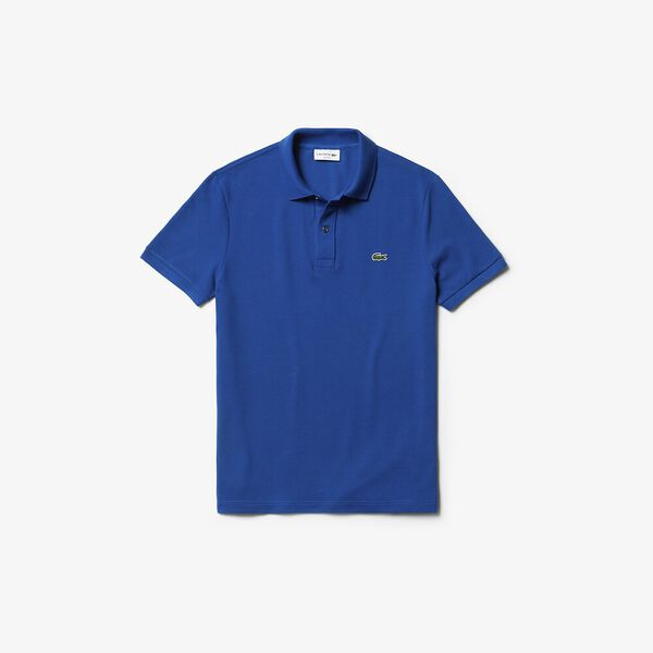 Men's Slim Fit Polo, ELECTRIC, hi-res