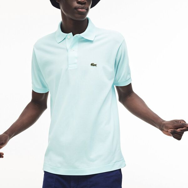 Men's Classic L.12.12 Classic Polo, AQUARIUM, hi-res