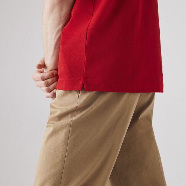 Men's Paris Polo, RED, hi-res