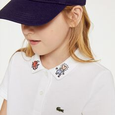 GIRLS KEITH HARING EMBROIDED COLLAR DETA