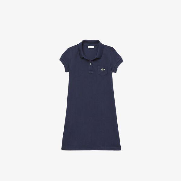 Girl's Polo-Style Dress
