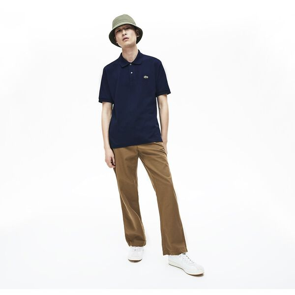 Men's L.12.12 Classic Polo, NAVY BLUE, hi-res