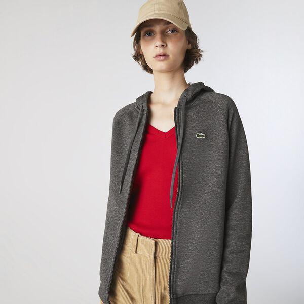 Women's SPORT Hooded Fleece Zip Tennis Sweatshirt