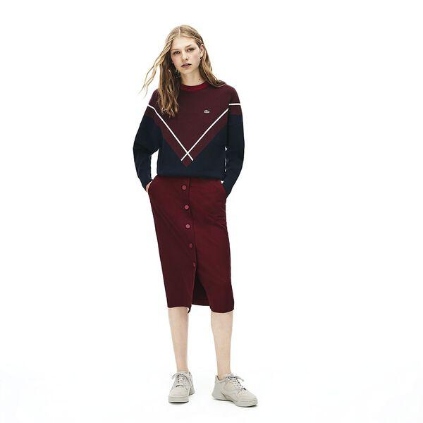 Women's Casual Elegance Cotton Skirt