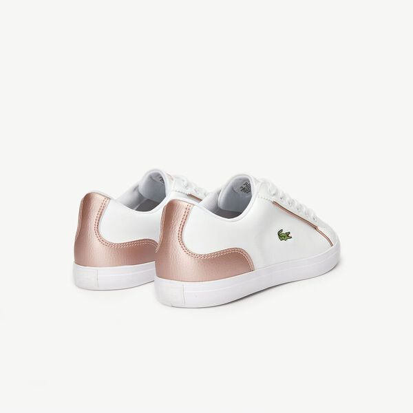 KIDS' LEROND 319 2, WHITE/PINK, hi-res