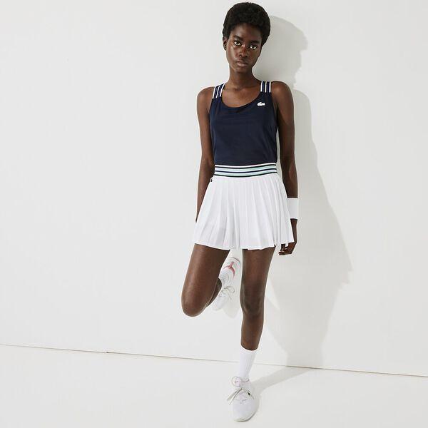 Women's SPORT Striped Straps Light Second-Skin Tank Top