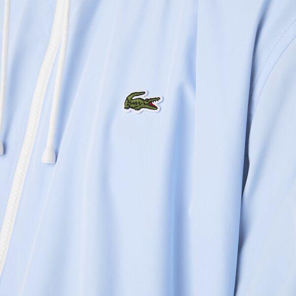 Men's Lightweight Water-Resistant Zip Windbreaker, OVERVIEW, hi-res