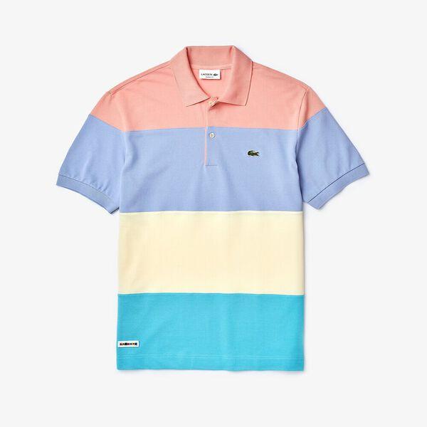 Men's Cotton Piqué Classic Fit Polo Shirt, CICER/CLUSI-PURPY-ELFE, hi-res