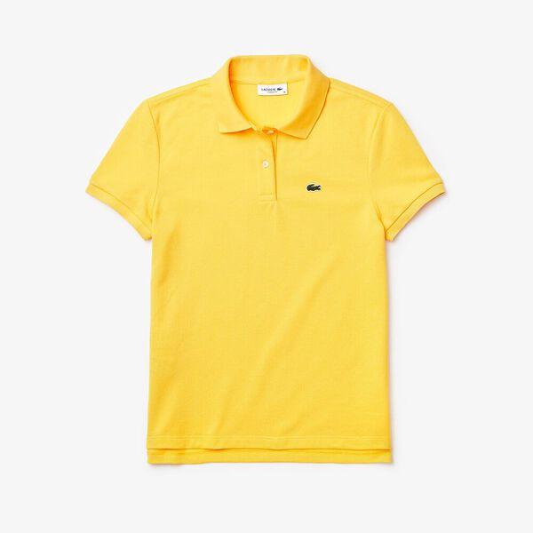Women's Lacoste Classic Fit Soft Cotton Petit Piqué Polo Shirt, DABA, hi-res