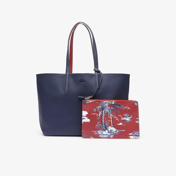WOMEN'S ANNA SHOPPING BAG, PEACOAT HAWAI, hi-res