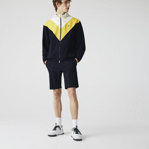 Men's Slim Fit Gabardine Bermuda Shorts