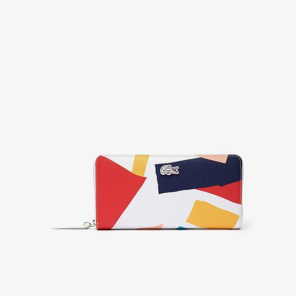 Women's L.12.12 Coloured Design Zippered Wallet
