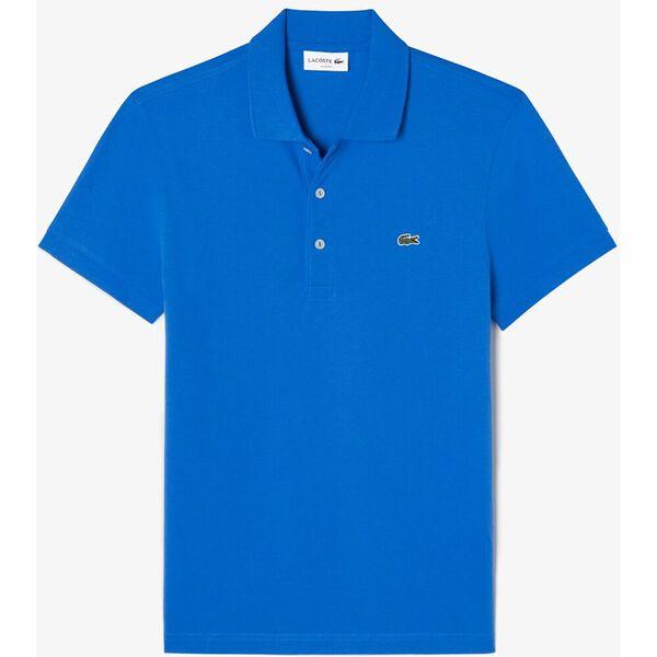 Men's Cotton Piqué Slim Fit Polo, IBIZA, hi-res