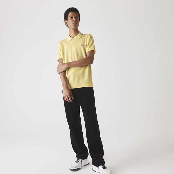 Men's L.12.12 Classic Polo, YELLOW, hi-res