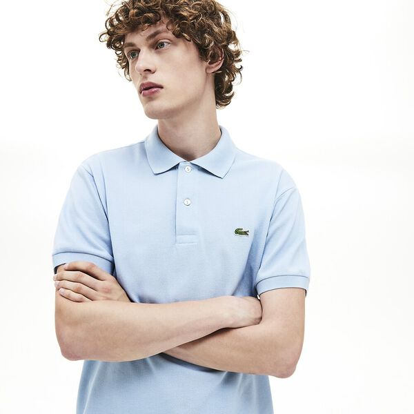 MEN'S L.12.12 CLASSIC POLO, BREEZE, hi-res