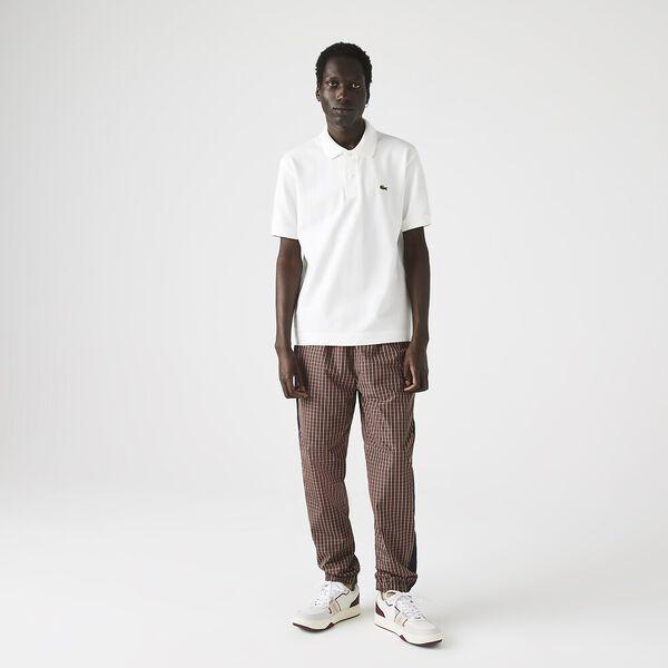 Men's L.12.21 Organic Cotton Polo, FLOUR, hi-res