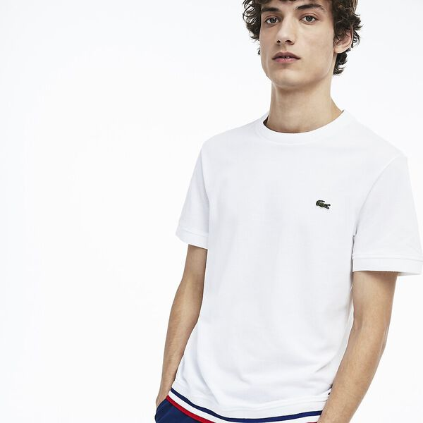 MEN'S MADE IN FRANCE TEE, WHITE/SALVIA/CAPTAIN, hi-res