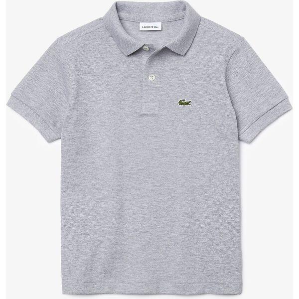 Kids' Petit Piqué Shirt, SILVER CHINE, hi-res