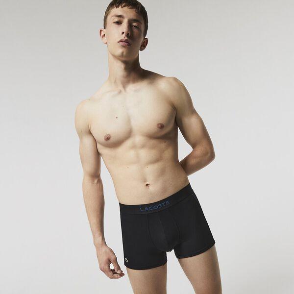 Men's Breathable Technical Mesh Trunk, BLACK/RAFFIA MATTING, hi-res