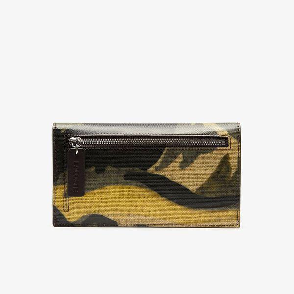 WOMEN'S ROBERT GEORGES SLIM CREDIT CARD HOLDER, ORIGINAL GREEN, hi-res