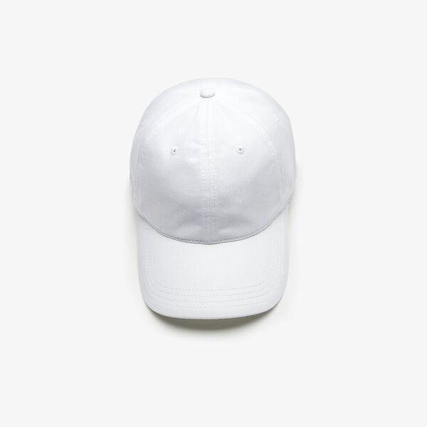 Contrast Strap Cotton Cap, BLANC, hi-res