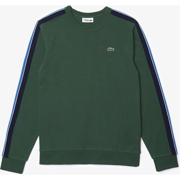 Men's SPORT Contrast Bands Fleece Sweatshirt