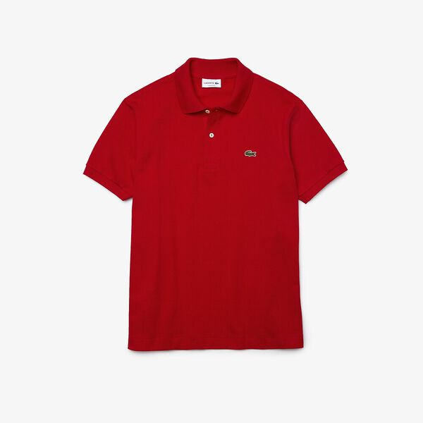 Men's L.12.12 Classic Polo, RED, hi-res