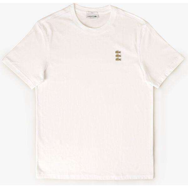 Unisex Triple Crocodile Crew Neck T-shirt