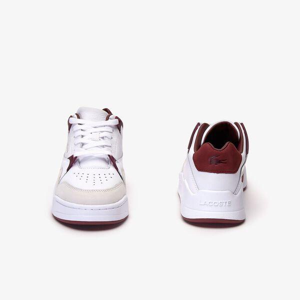 Women's Court Slam 319 3 Sneaker, WHITE/DARK RED, hi-res