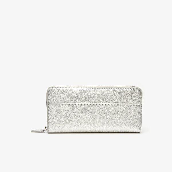 Women's Croco Crew Large Zip Wallet